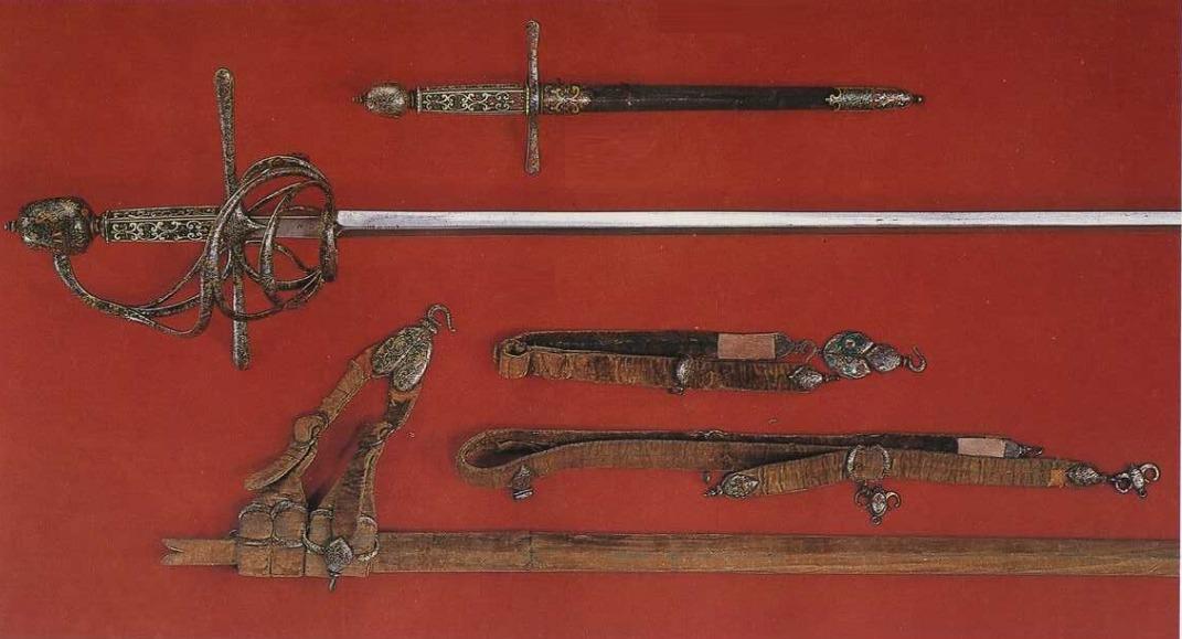 Шпага, дага и ножны