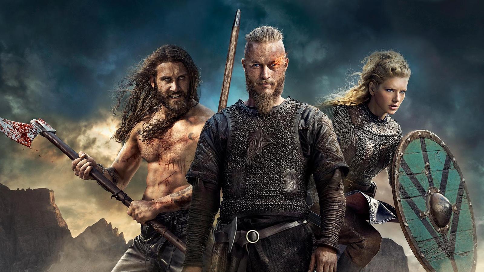 Скандинавские воины