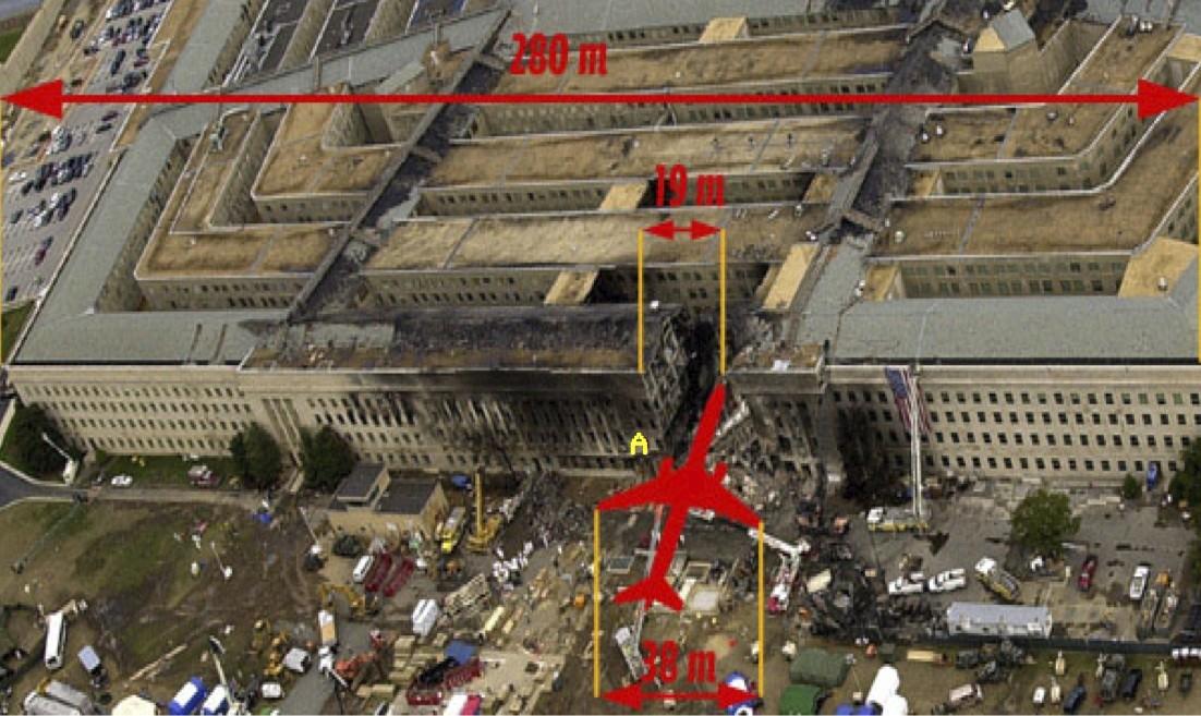 Схема террористической атаки 11 сентября