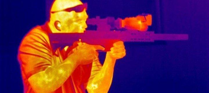 Снайпер через тепловизор