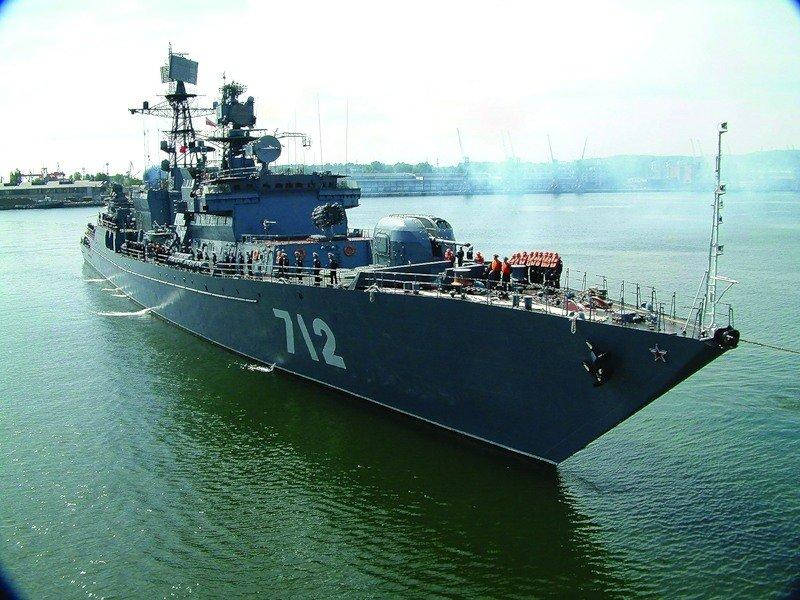Сторожевой корабль проекта 11540