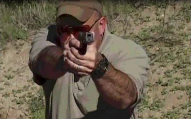 Стрельба с двух рук