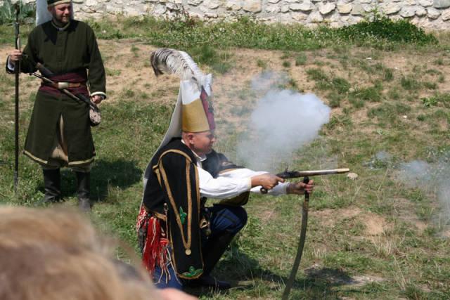 Стрельба с ятагана