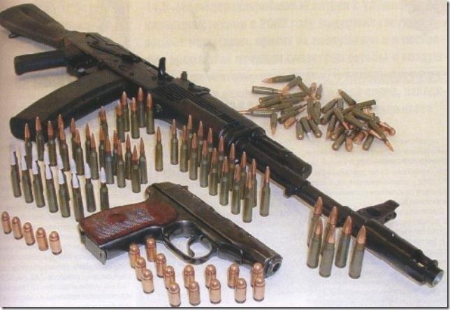 Табельное оружие военных