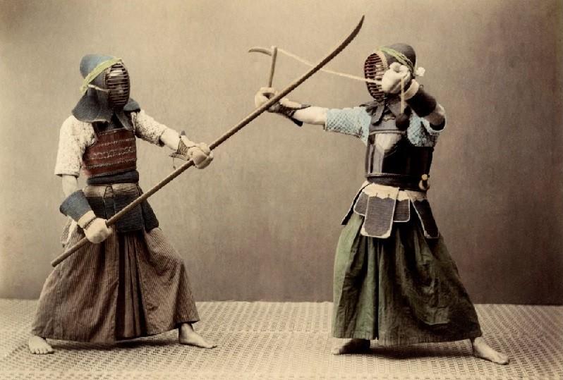 Тренировки самурая