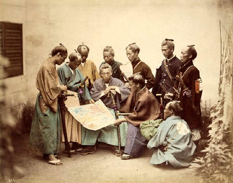 Учеба самураев