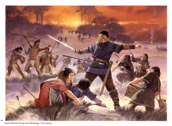 Викинги - изобретатели тактики морской пехоты
