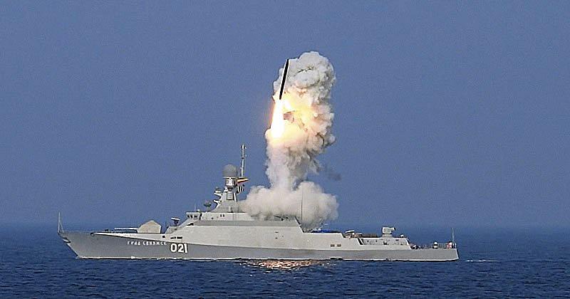 Запуск ракеты с Буяна-М