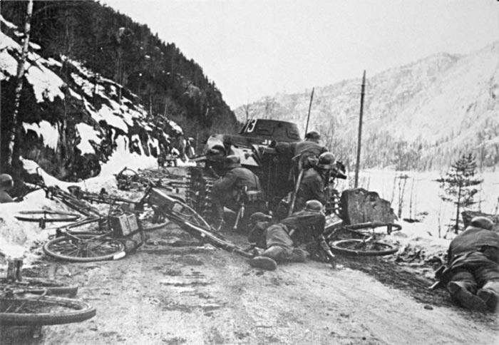 Бои в Норвегии 1940