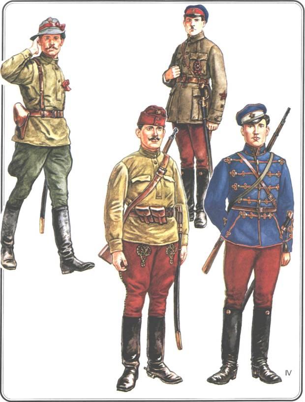 Форма солдат РККА