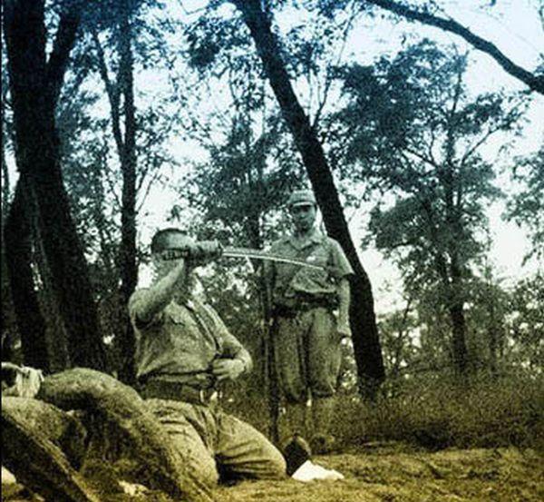 Харакири японских солдат