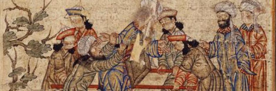 Мусульманская фреска