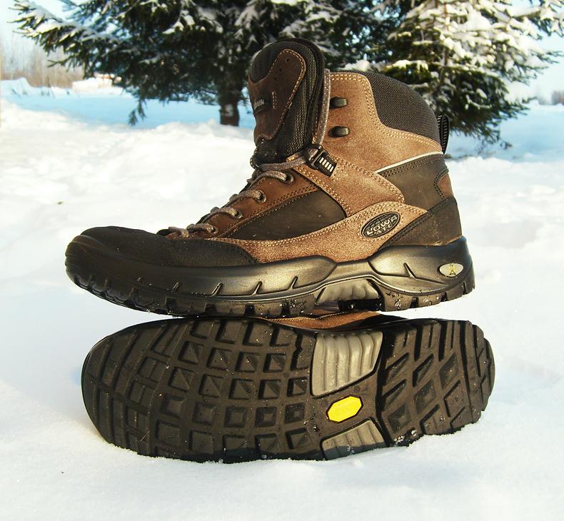 Подлинные треккинговые ботинки