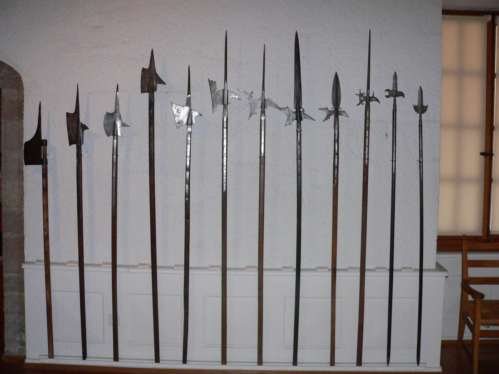 Разновидности средневековой алебарды
