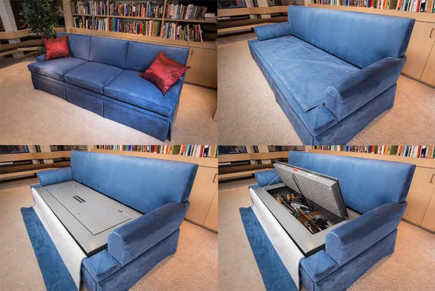 Сейф-диван
