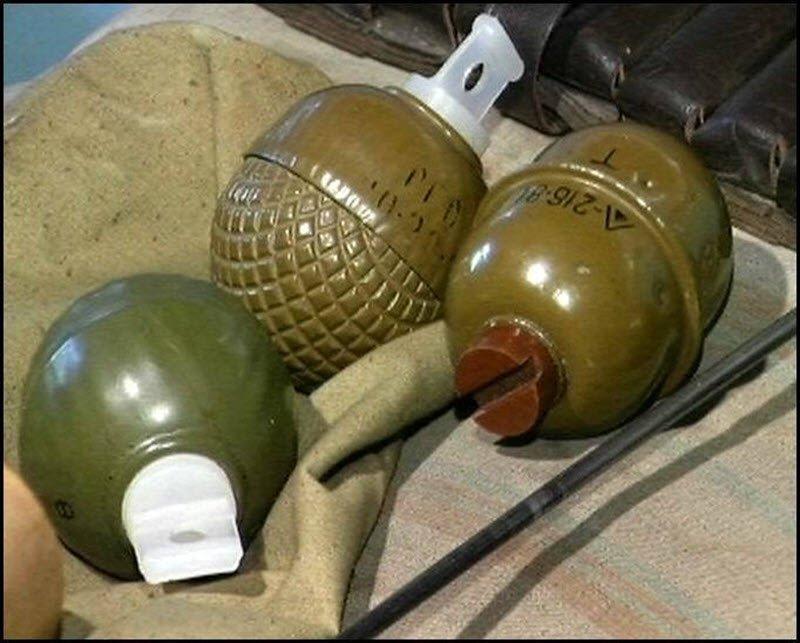 Готовые к использованию гранаты