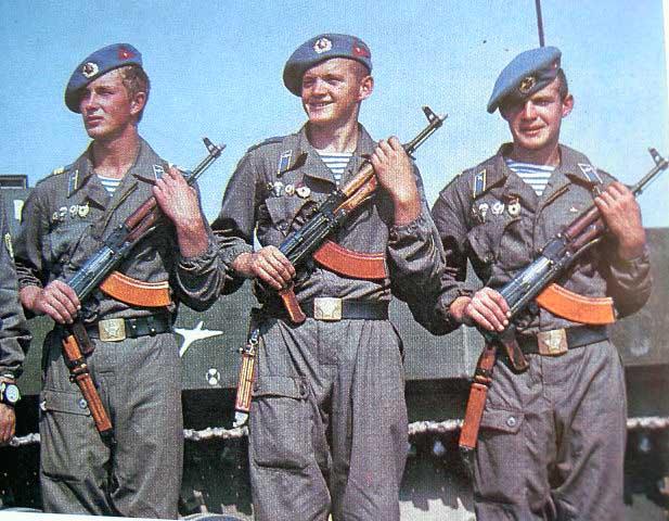 Первые солдаты ВДВ