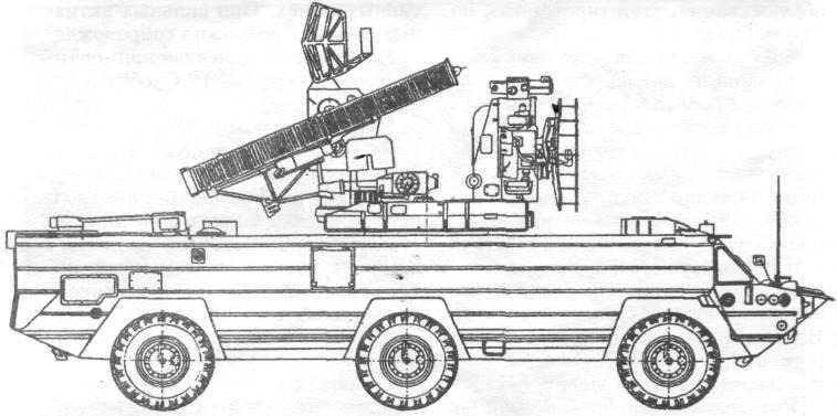 Схема ЗРК