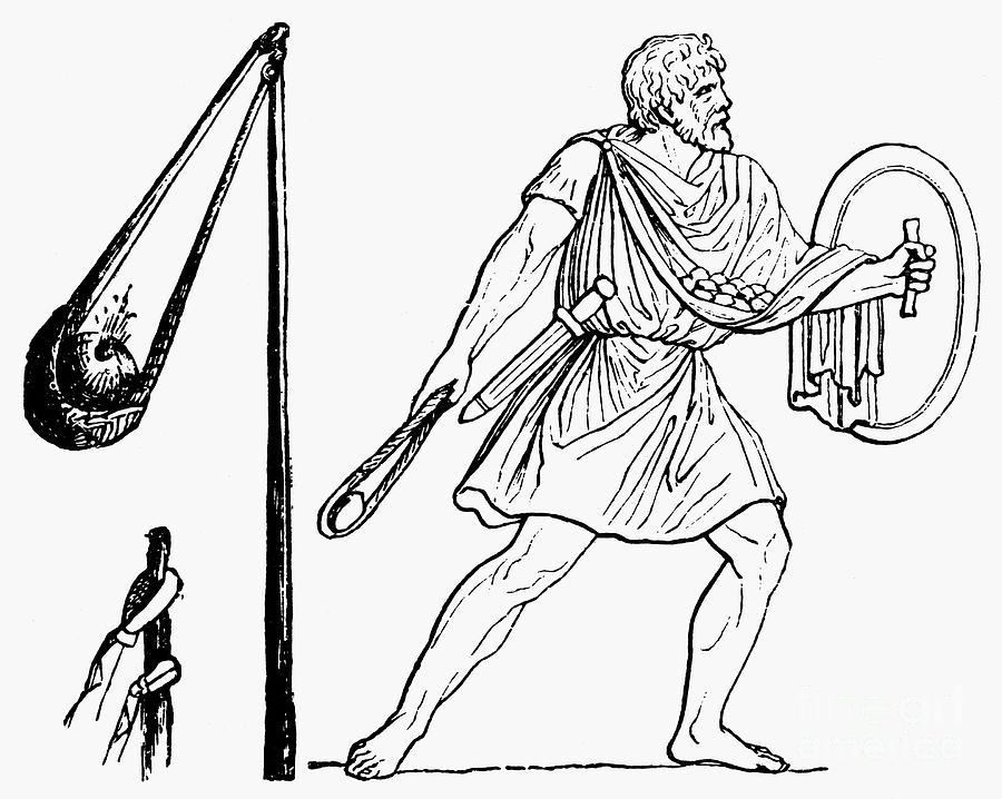 Древнегреческий пращник