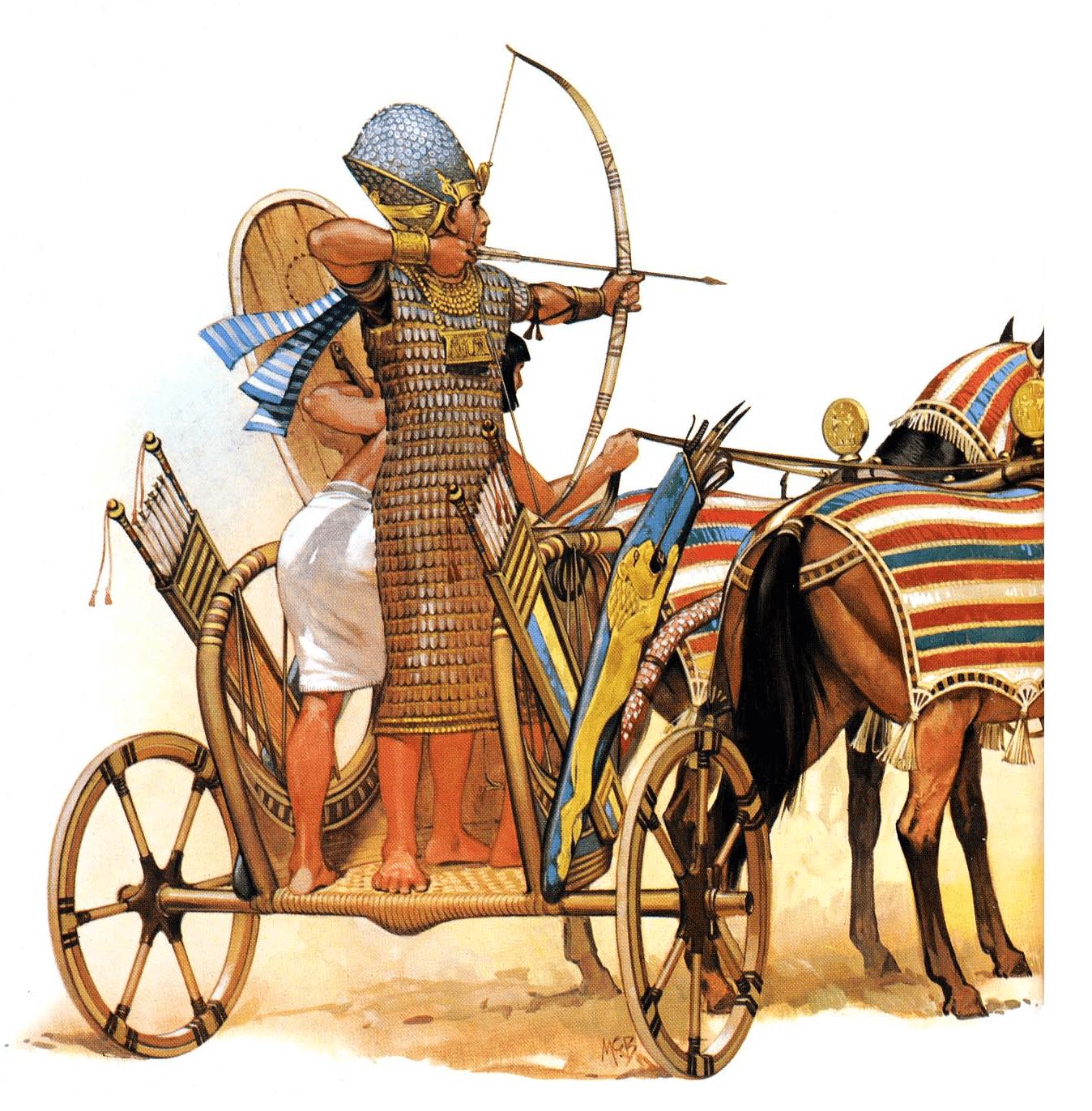 Египетская военная колесница