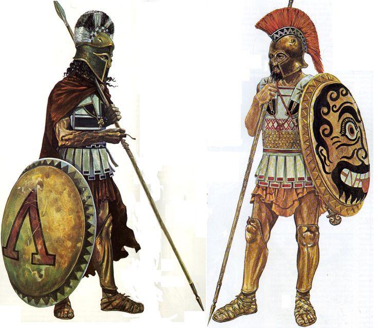 Греческие гоплиты