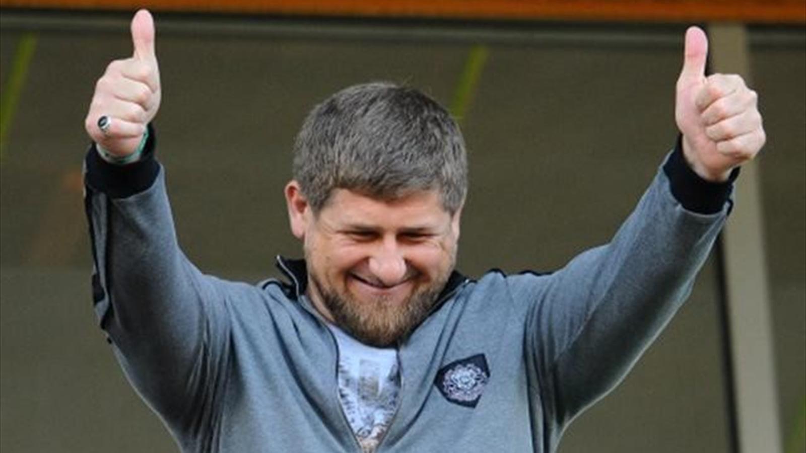 Рамзан Кадыров - глава Чечни