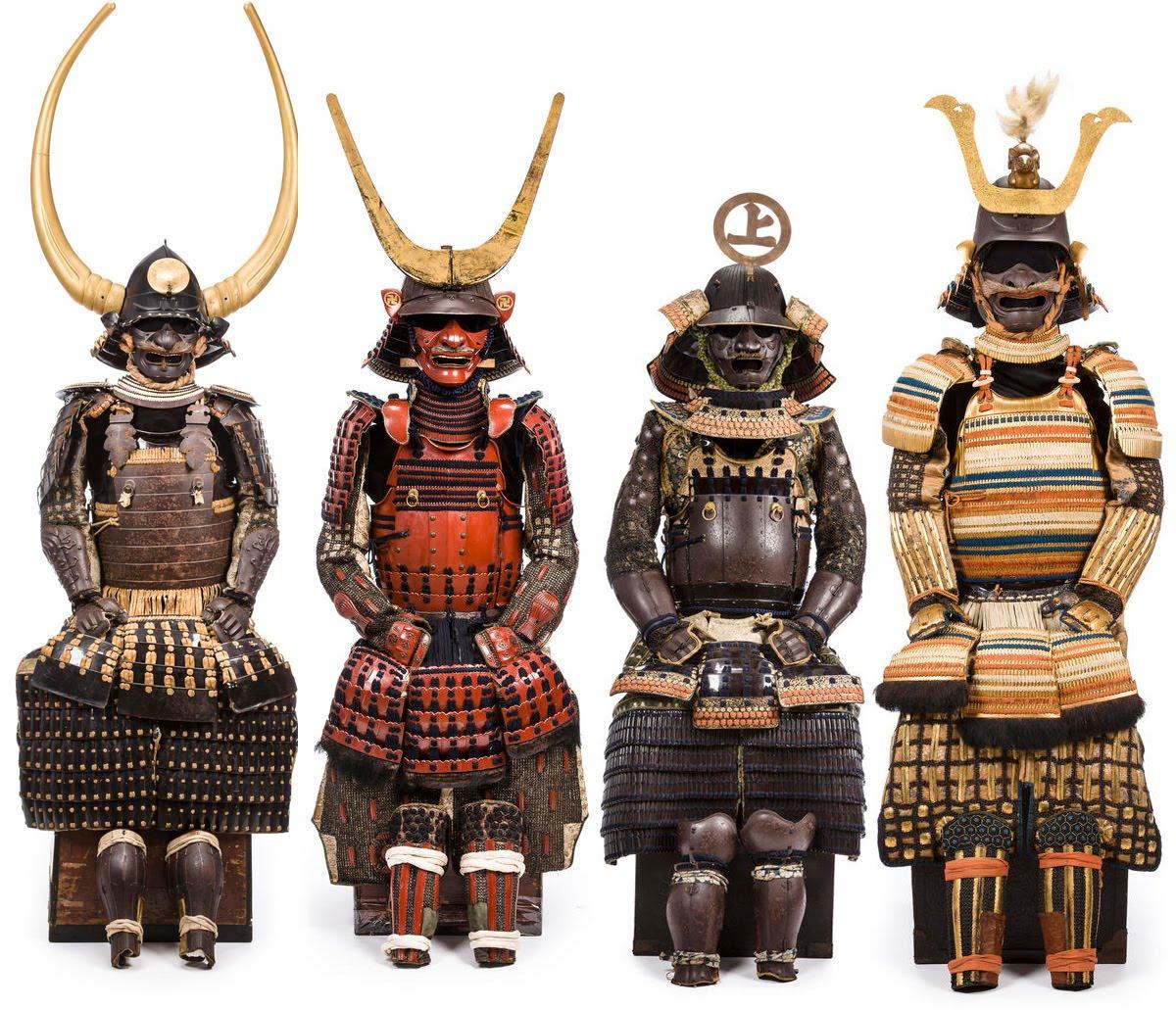 Японские средневековые доспехи