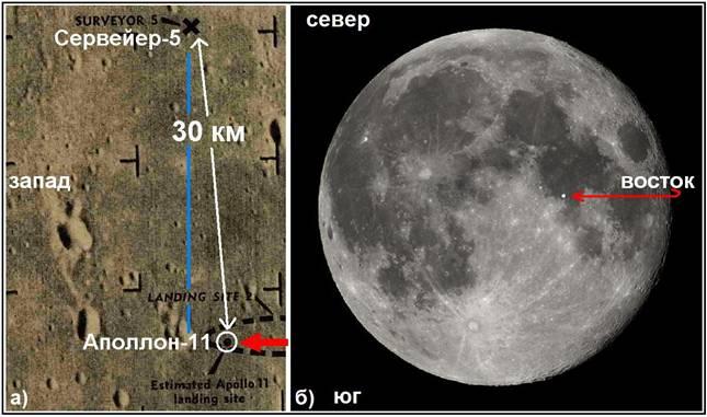 "Место посадки ""Аполлона-11"""