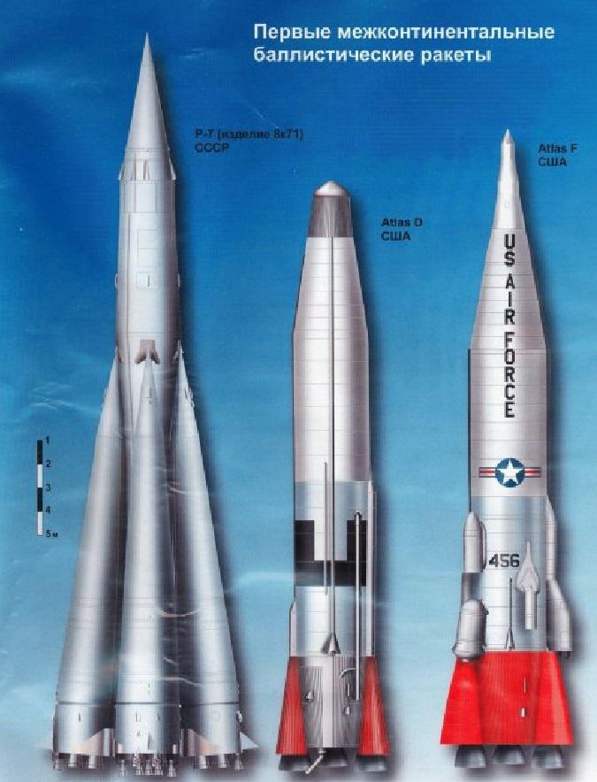 Первые баллистические ракеты