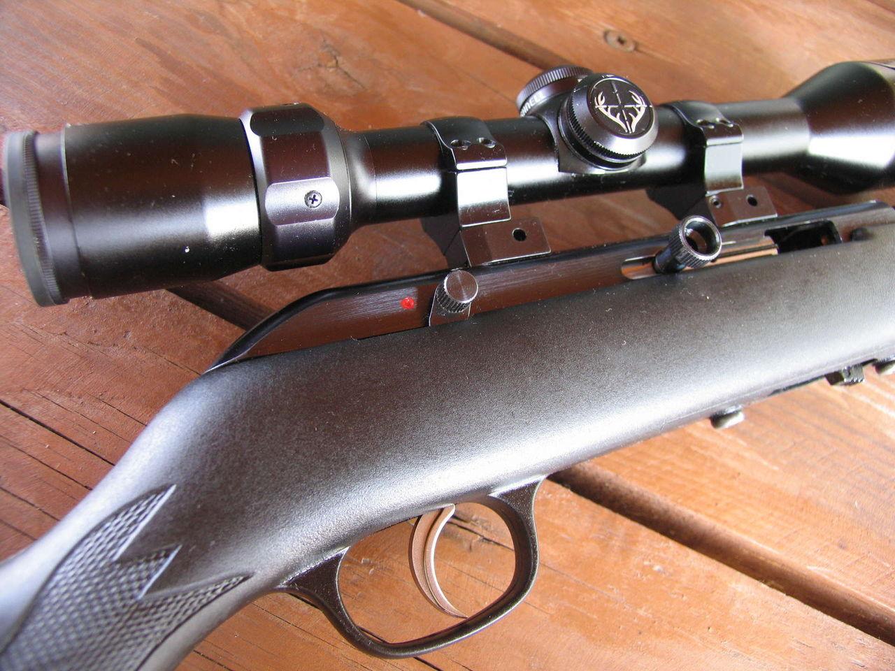 Снайперский прицел для охотничьего карабина
