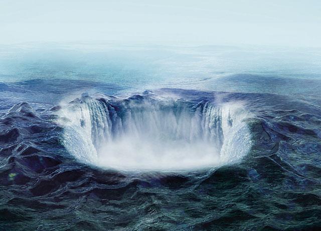 Черные дыры мирового океана