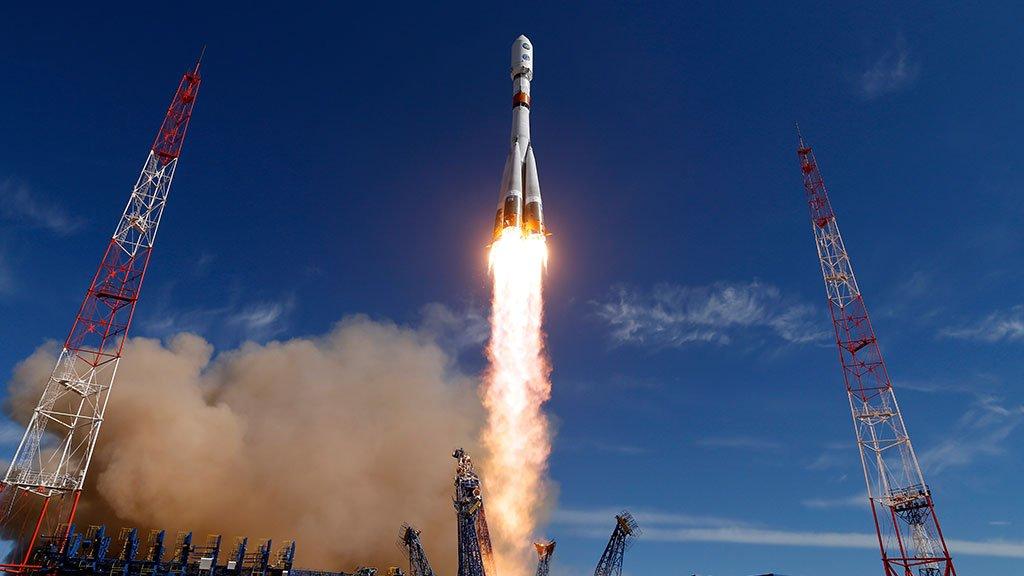 Доставка спутника на орбиту