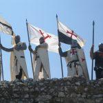 Флаги тамплиеров