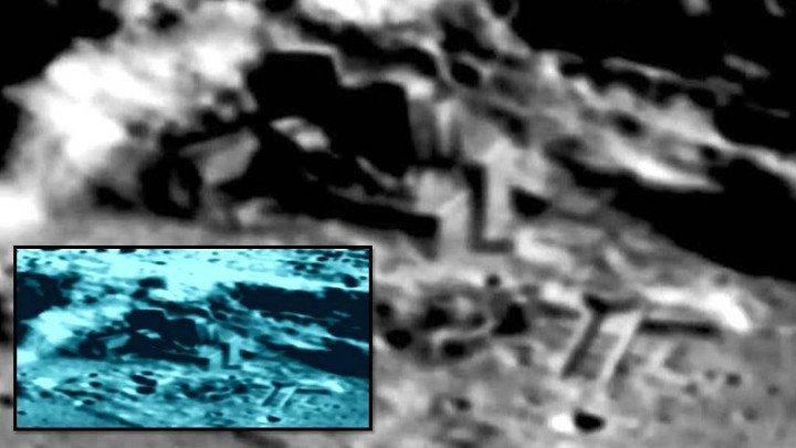 Искусственные постройки на Луне