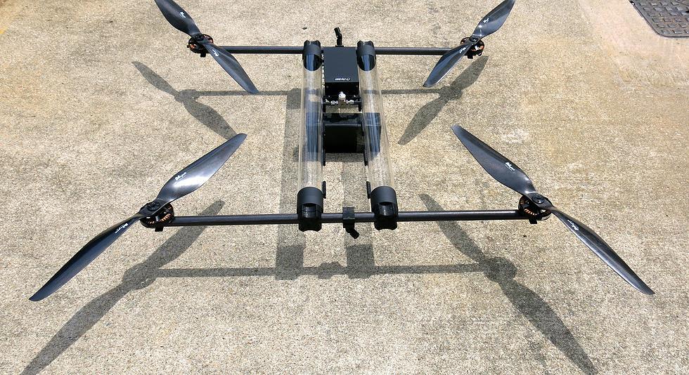 Квадрокоптер на водородной основе