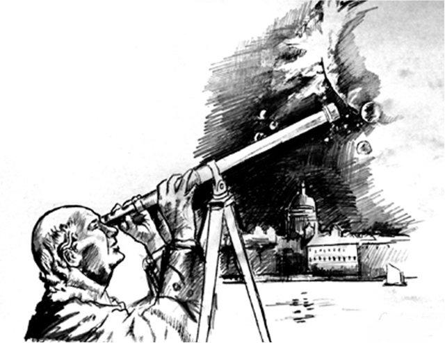 Ломоносов и Венера