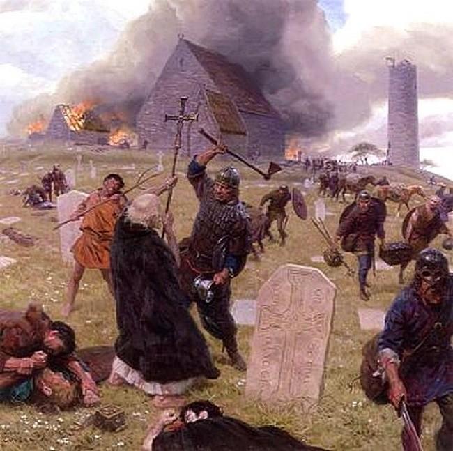 Набеги норманнов на Британию
