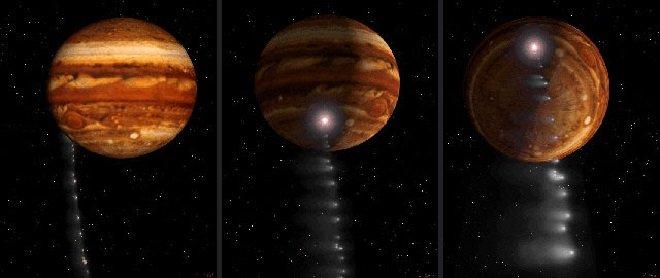 Падение кометы Шумейкера-Леви