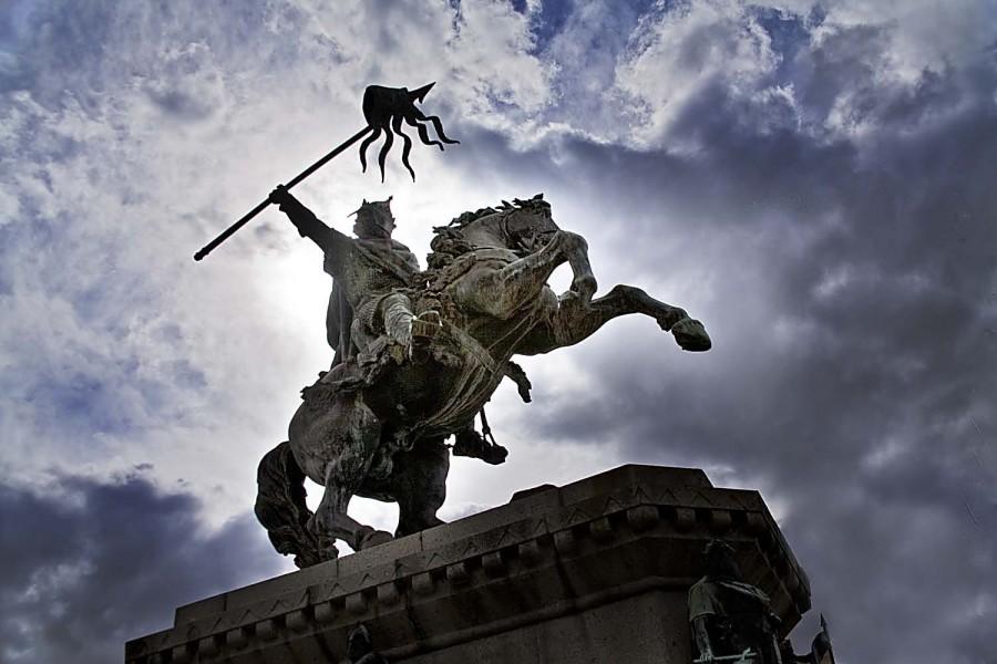 Памятник Вильгельму Завоевателю