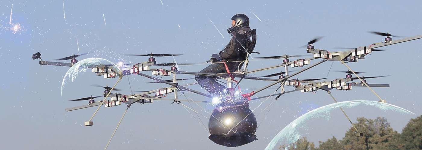 Полет на квадрокоптерах