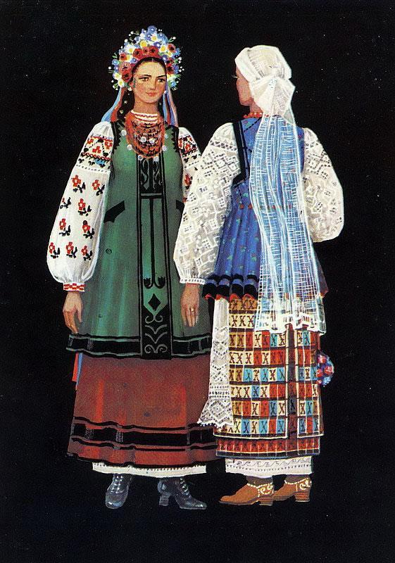 Разновидности женских нарядов