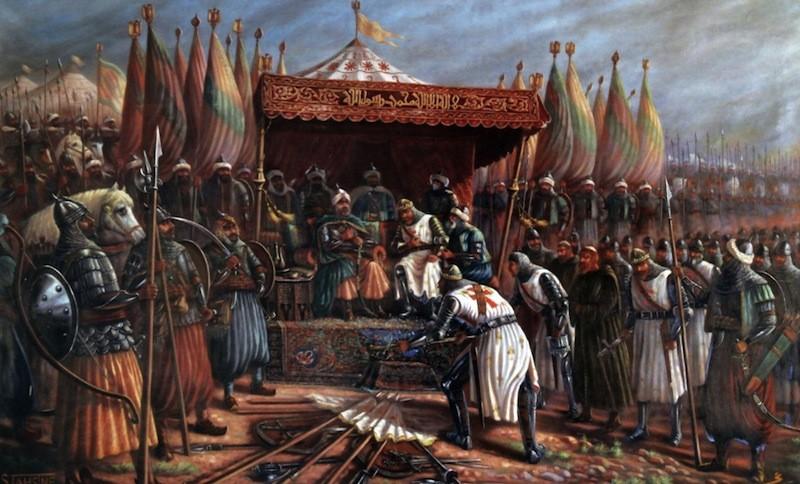 Саладин и тамплиеры