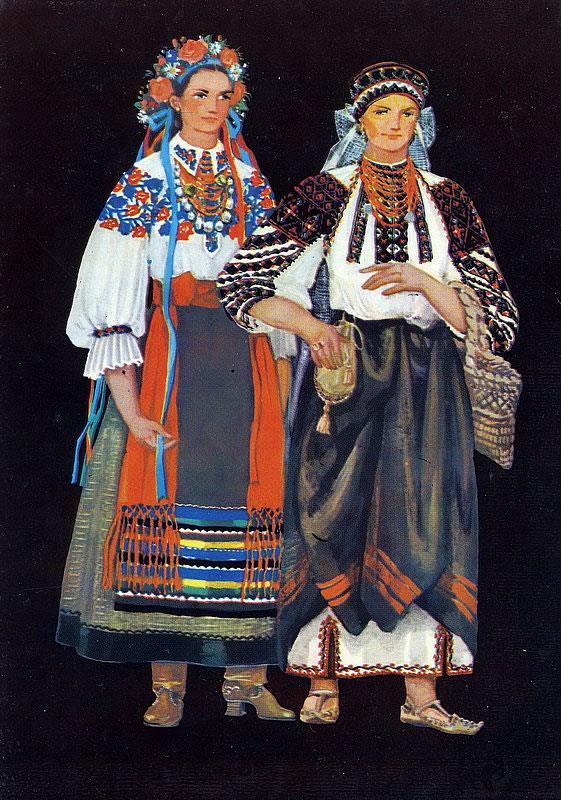 Украинские поневы