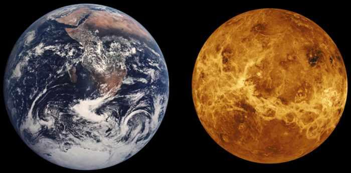 Земля и Венера