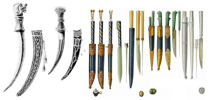 Разновидности засапожных ножей