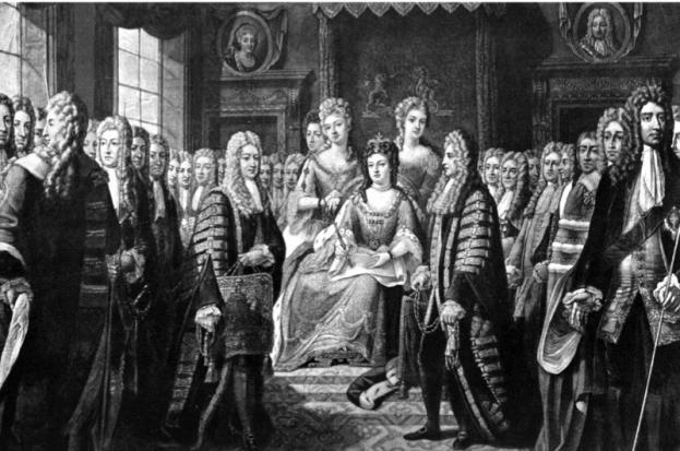 Соединение Англии и Шотландии