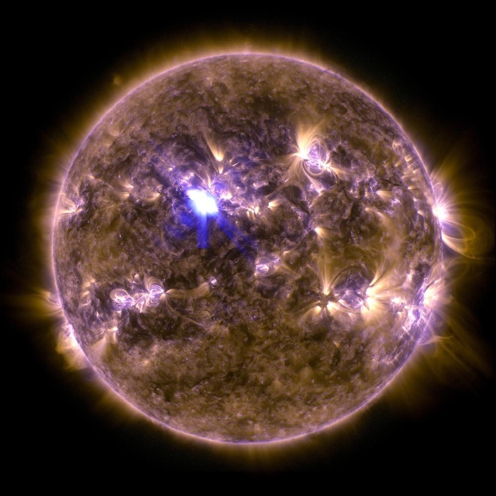 Солнце в инфракрасном излучении