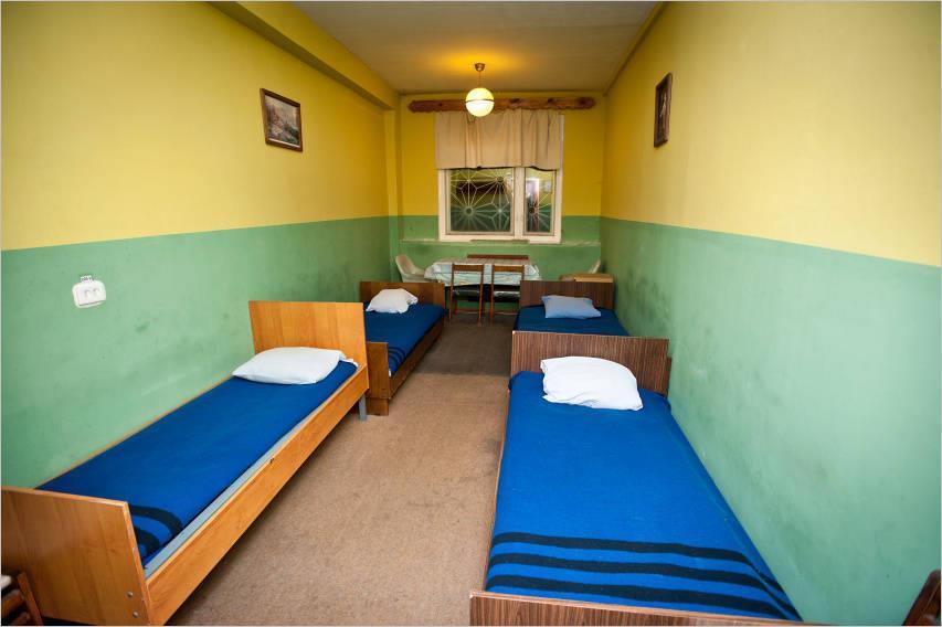 Спальная комната в дисбате