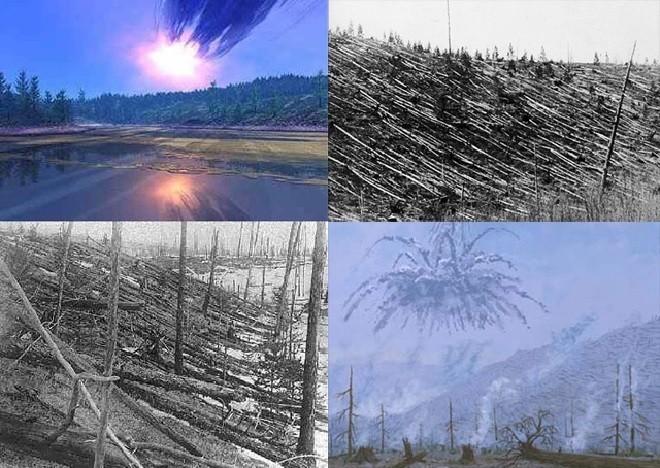 Взрыв Тунгусского метеорита