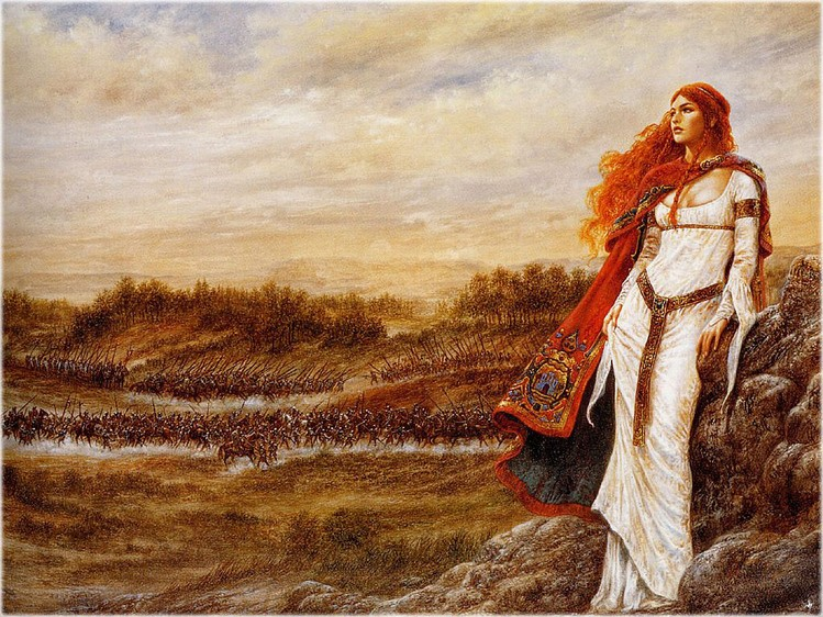 Женщина и войско